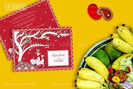 kalamkari wedding invitation card wedding kards