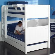 Twin Bunk Bed In White By Maxtrix Kids - Maxtrix bunk bed