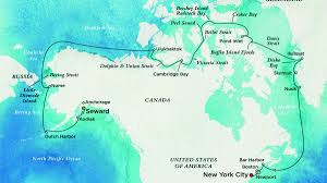 Where Is Alaska On The Map by Global Warming Makes This Luxury Cruise Through The Northwest