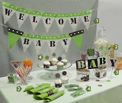 green color decorations for baby shower party decor green camo