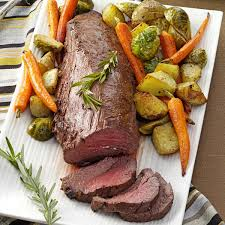 Roasted Vegetables Recipe by Beef Tenderloin With Roasted Vegetables Recipe Beef Tenderloin