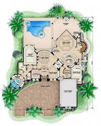 luxury house plans with pools floor plan interior design mediterranean house plans with pool