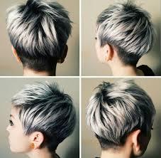 short styles for grey hair streaked short gray hairstyles 2015 hairstyles 2015 pinterest short