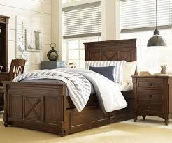 big sur highlands full size panel bed 4920 4104k legacy classic