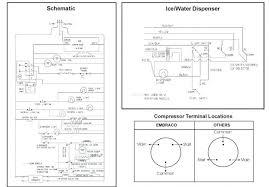 compressor wiring diagram air 3 phase refrigerator single