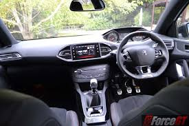 peugeot 308 gti interior 2016 peugeot 308 gti 270 review