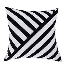 Cushion Covers For Sofa Pillows by Aliexpress Com Buy Black Pillow Geometric Cushions Decorative