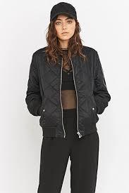 light bomber jacket womens light before dark black quilted bomber jacket brand items