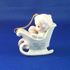 precious moments porcelain ornaments by enesco