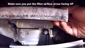 2012 toyota prius change how to change install replace cabin air filter 2012 toyota prius c