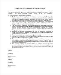 employee confidentiality agreement u2013 10 free word pdf documents