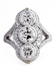 stone rings images Charlotte vertical three stone diamond ring in white gold dana jpg