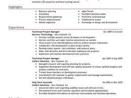capacity manager sample resume 49 best management resume