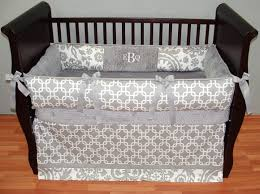 Gray Crib Bedding Sets by Baby Nursery Great Girl Baby Nursery Room Decoration Using Black