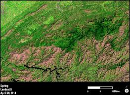 Smoky Mountains Map Earthview U2013beauty Of Earth Science Revealed Within Great Smoky