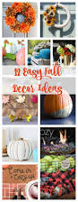 12 easy fall decor ideas diy housewives series 2 bees in a pod