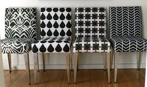 Black White Dining Chairs Dining Chairs In Black And White Salvaged Chairs From Wrec Flickr