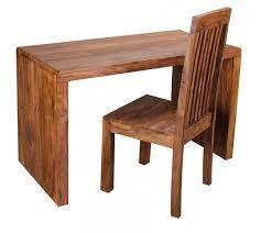 Schreibtisch 90 Cm Breit Wohnling Schreibtisch Boha Massiv Holz Sheesham Computertisch 120