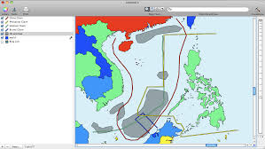 South China Sea Map by Mapping The South China Sea Dispute U2014 Cartographica