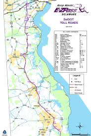 map us route 1 delaware e zpass e zpass exits map