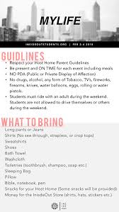 packing list form north point community church insideout