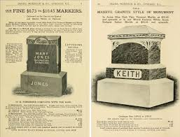 tombstone cost the cost of tombstones in 1903