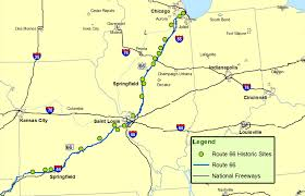 illinois map usa illinois missouri map route a discover our shared heritage