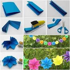 party decor diy easy paper flower party decoration