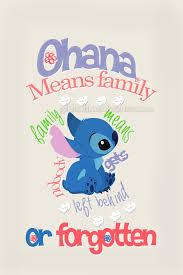ohana means family family means left