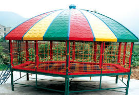 kids u0027 favorite playground equipment hexagonal indoor trampoline