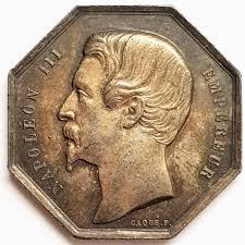 chambre de commerce de marseille jeton de la chambre de commerce de marseille argent napoléon iii