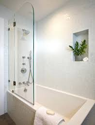 Half Shower Doors Half Bath Tub And Shower Half Bath Renovation Bathtub Shower Doors