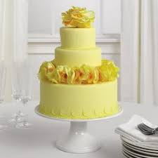 wedding cakes pictures yellow wedding cakes pictures