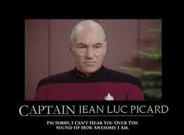 Jean Luc Picard Meme - gratuitous randomness captain picard is a badass westword