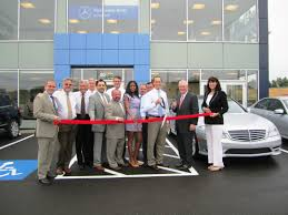 mercedes showroom exterior mercedes benz of fairfield opens pre owned center the fairfield