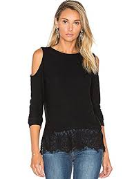 cold shoulder tops womens cold shoulder tops sleeve black lace shirts blouse at