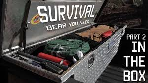 survival truck gear survival gear you need in your cargo box toolbox part 2