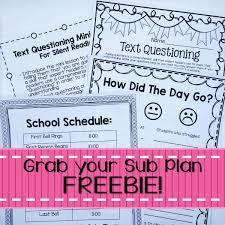 4th grade math lesson six simple steps for organized emergency sub plans