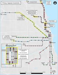 Chicago Elevated Train Map by Where The U0027l U0027 Is Experiencing Passenger Crowding Curbed Chicago
