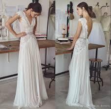 boho wedding dress designers discount boho wedding dresses 2018 bohemian wedding gowns with cap