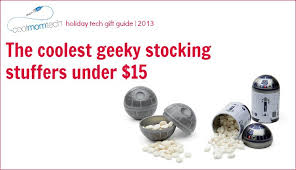 fun stocking stuffers holiday tech gifts geeky stocking stuffers under 15 cool mom tech