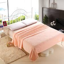 spring summer comfortable soft plush fleece blanket for bed sofa