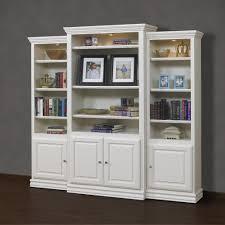 Cherry Wood Bookcase With Doors Enchamting Solid Wood Bookcase Rectangle Shape Dark Cherry Finish