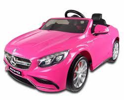 light pink mercedes 12v pink mercedes s63 amg kids electric car with parental remote