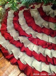 best 25 burlap tree skirt ideas on rustic
