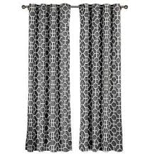 Cotton Curtains And Drapes Creative Home Ideas Window Treatments The Home Depot