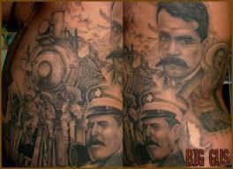 art junkies tattoo studio tattoos realistic train tattoo