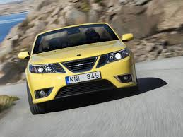 2008 saab 9 3 convertible yellow edition conceptcarz com