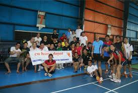 Cw Shower Doors by Cw Home Depot Gets Fit With Uap Qc For A Friendly Badminton Tournament