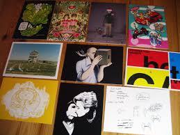 postkarten designen postcard ein buch über postkarten design slanted typo weblog